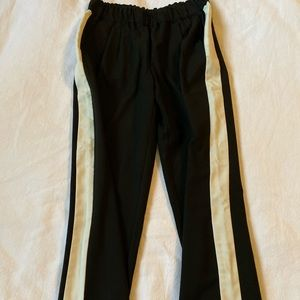 Zara pants with stripe